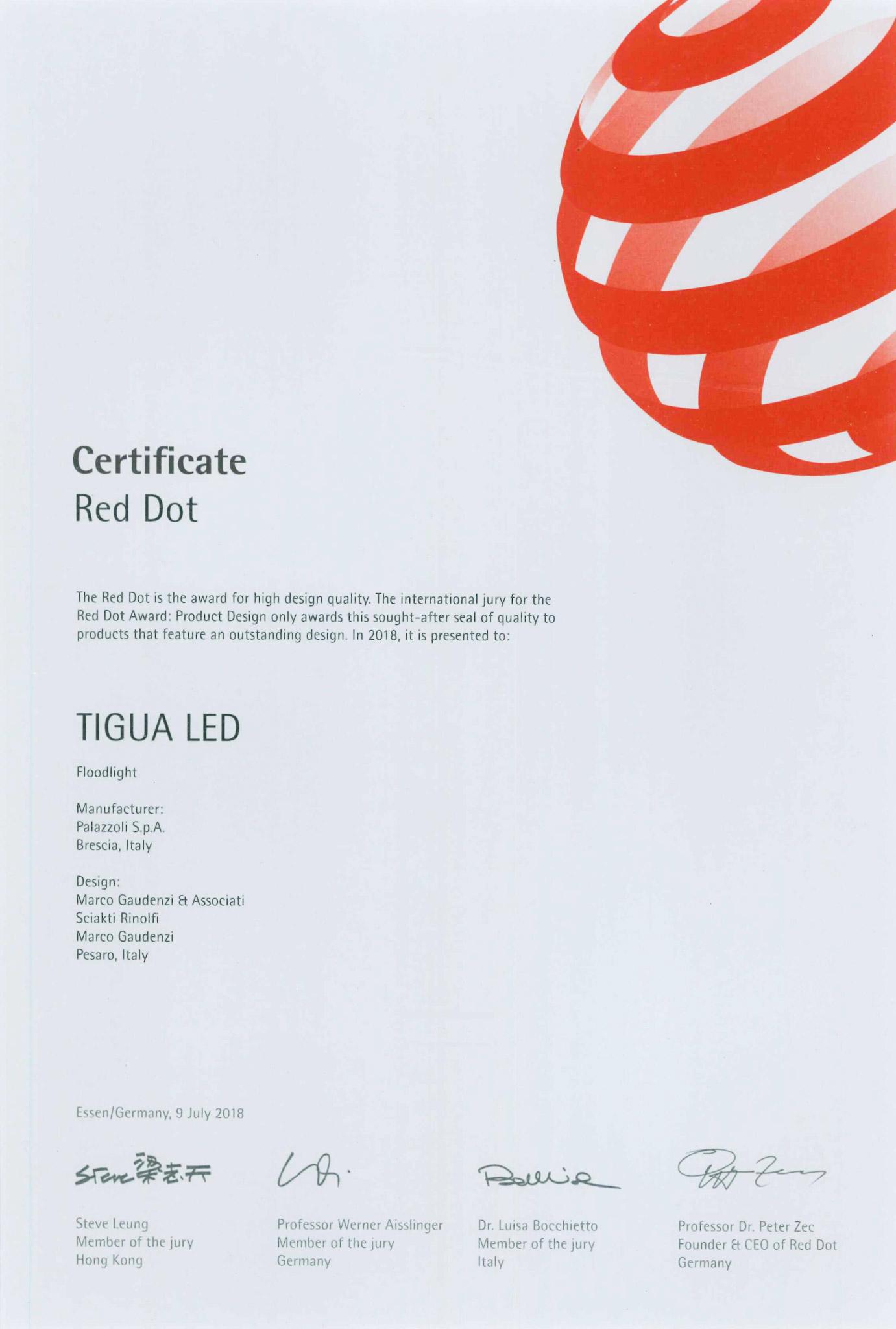 Red Dot Tigua